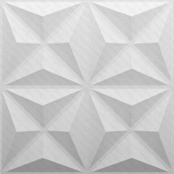 panel decorativo triángulos